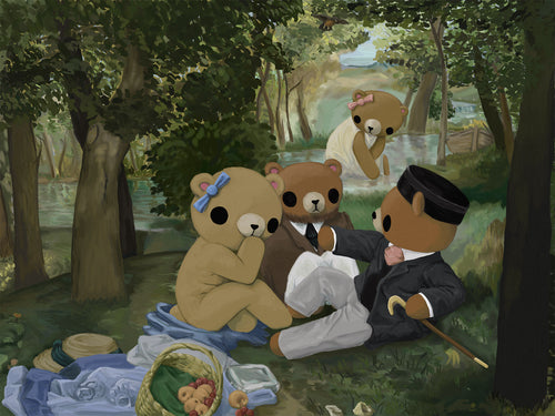 Teddy Bear's Luncheon on the Grass