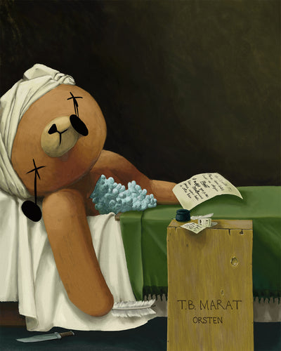 The Death of Teddy Bear Marat