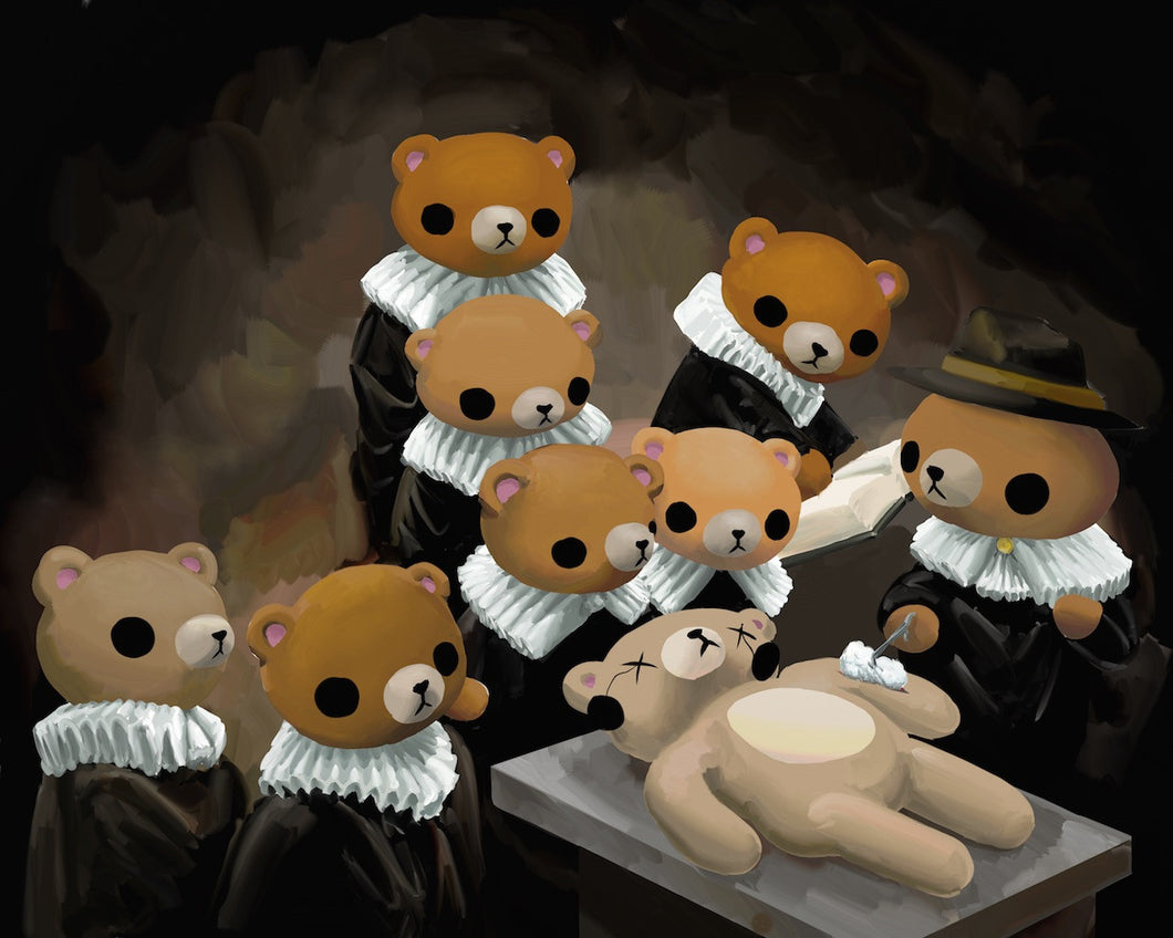 The Anatomy Lesson of Dr. Nicholaes Bear – Reid Orsten