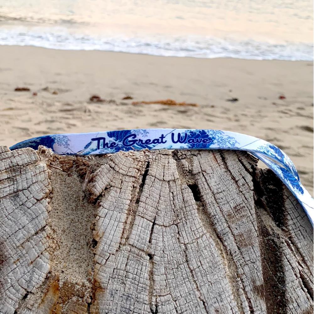 The Great Wave - Lanyard