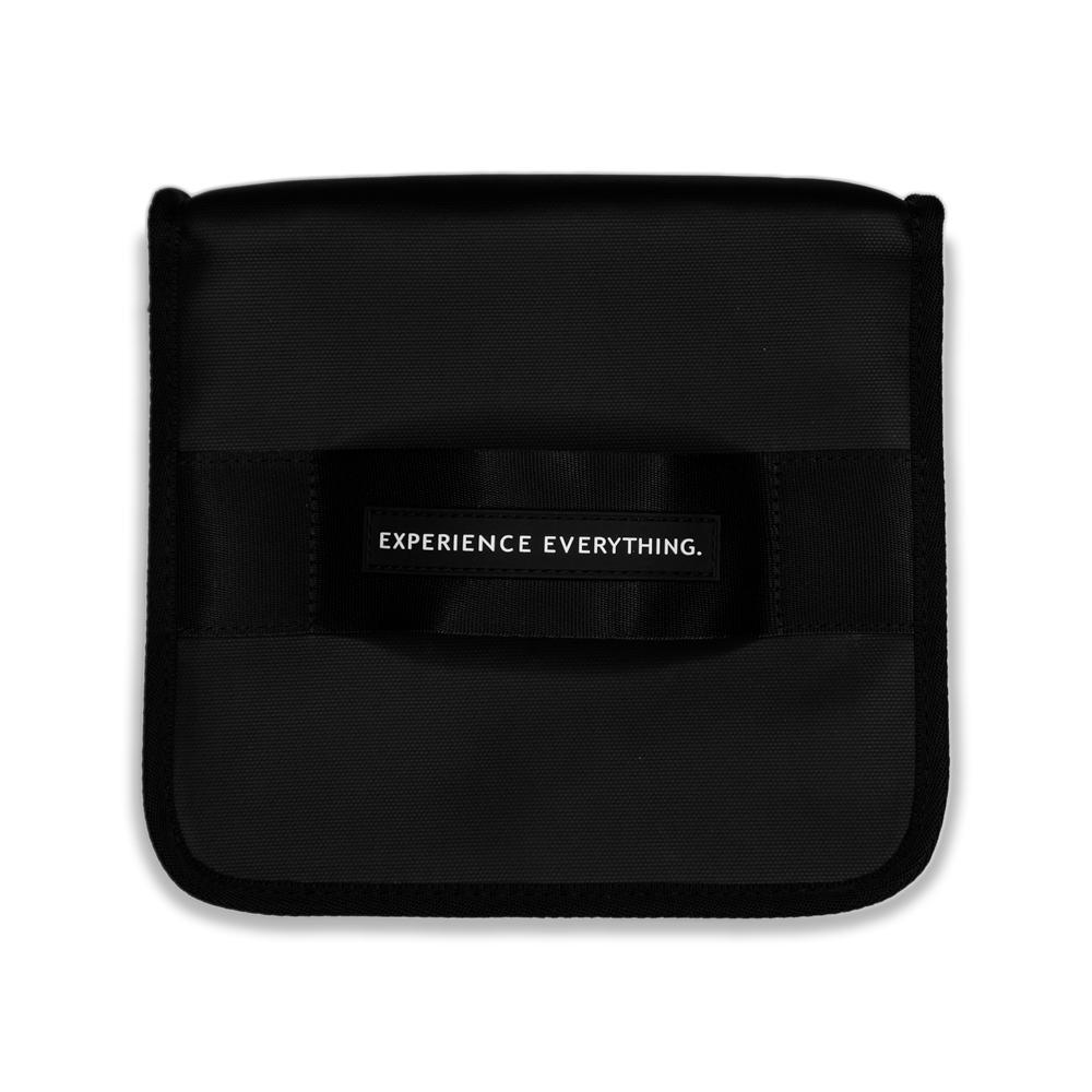 product image of a black lunch box