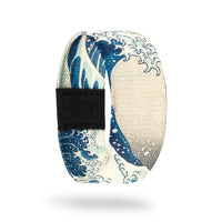 Outside Design of The Great Wave: shows the wave of the classic The Great Wave painting by Katsushika Hokusai