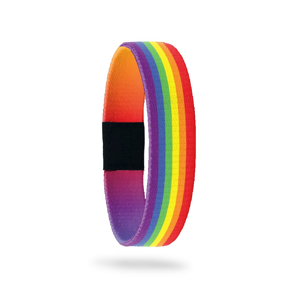 Outside Design of Love Wins: rainbow design