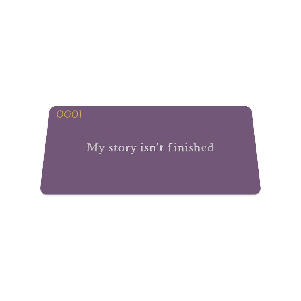 My Story Isn't Finished Ring