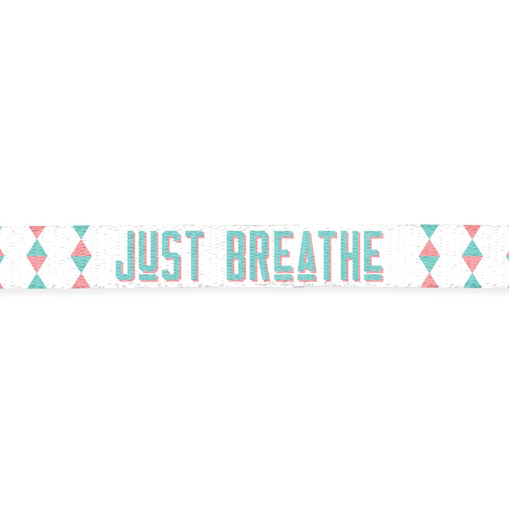Just Breathe - Lanyard