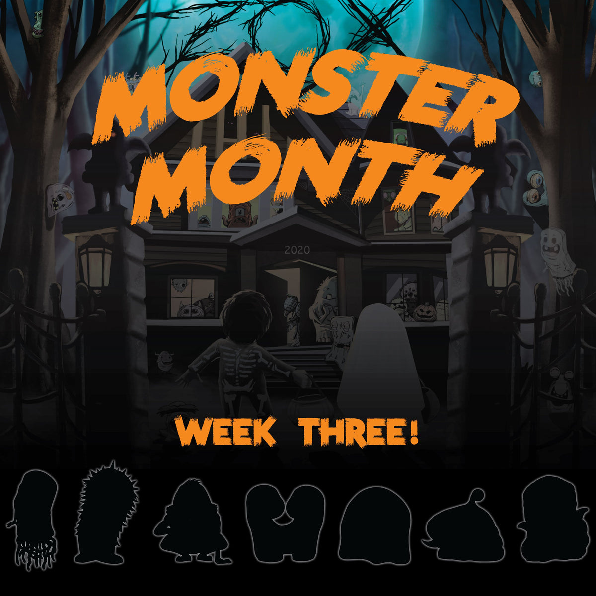 Monster Month Week 3 Pack - Day 3 in place of Day 20
