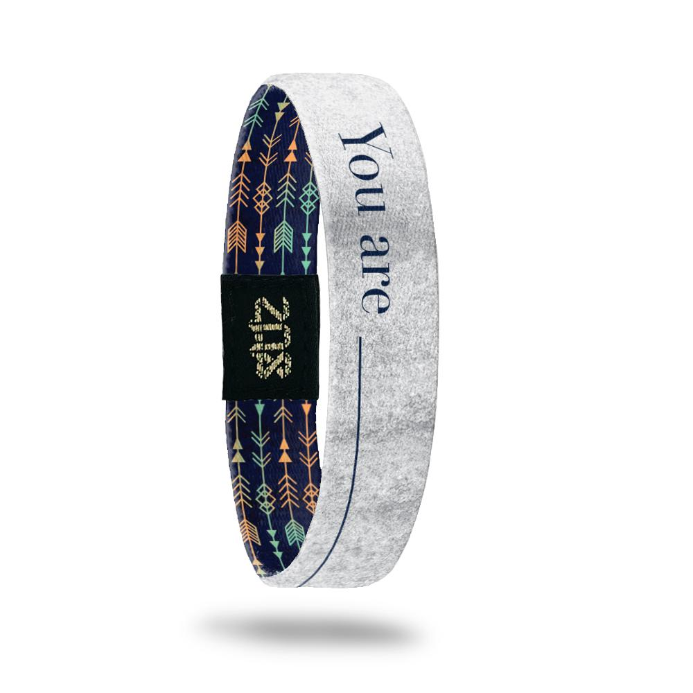 ZOX Straps REMEMBER WHY YOU STARTED Medium Size Secret Stash