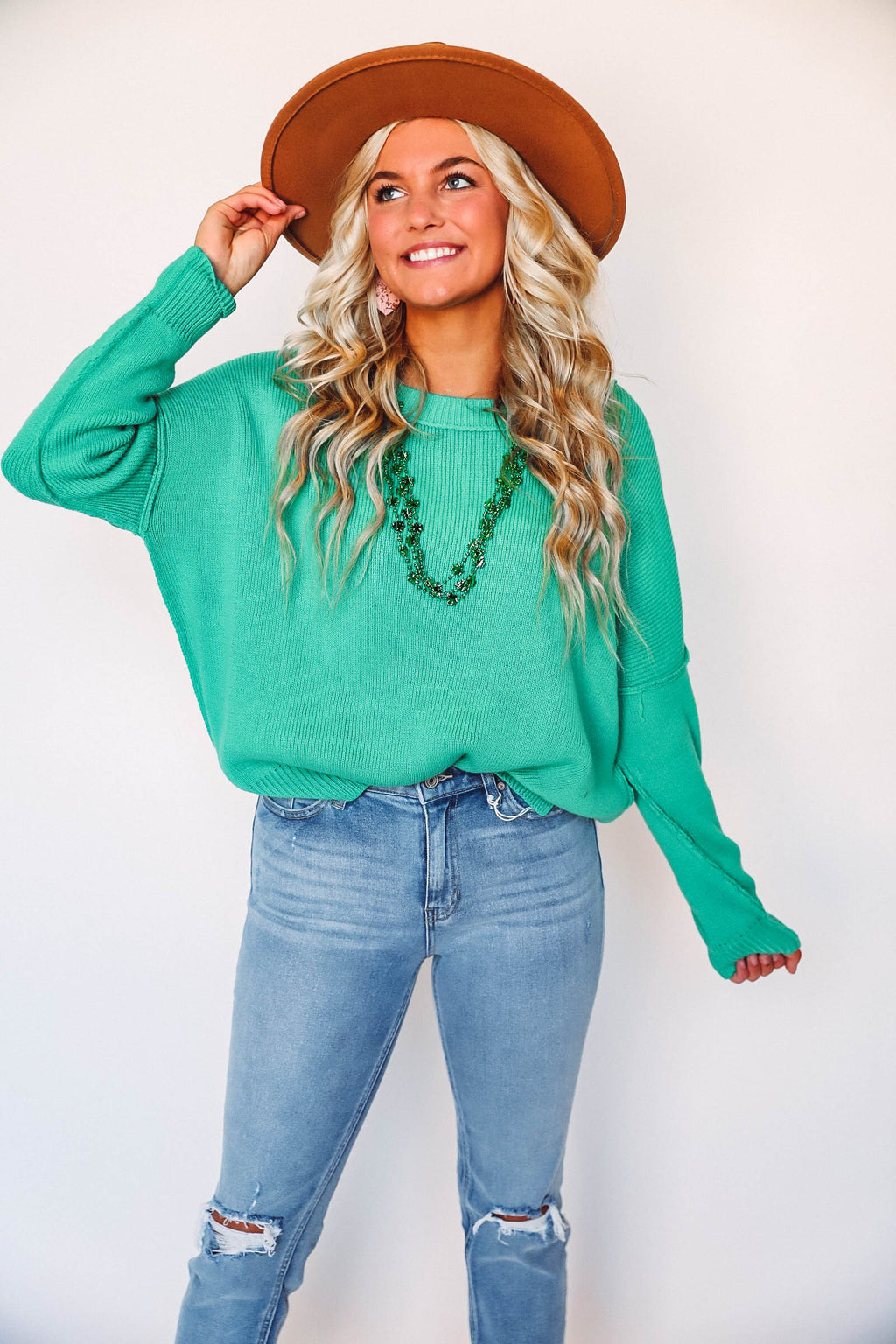 Kelsey Poncho- Brown