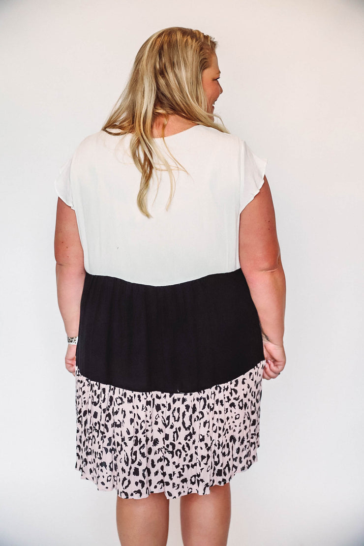 Poppy Leopard Dress