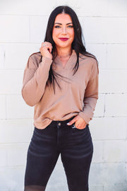 Krista Necklace-Speckle Black