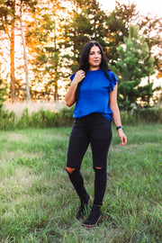 Noelle Necklace-Ocean Jasper