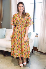 Stella Button Down Cardi-Charcoal