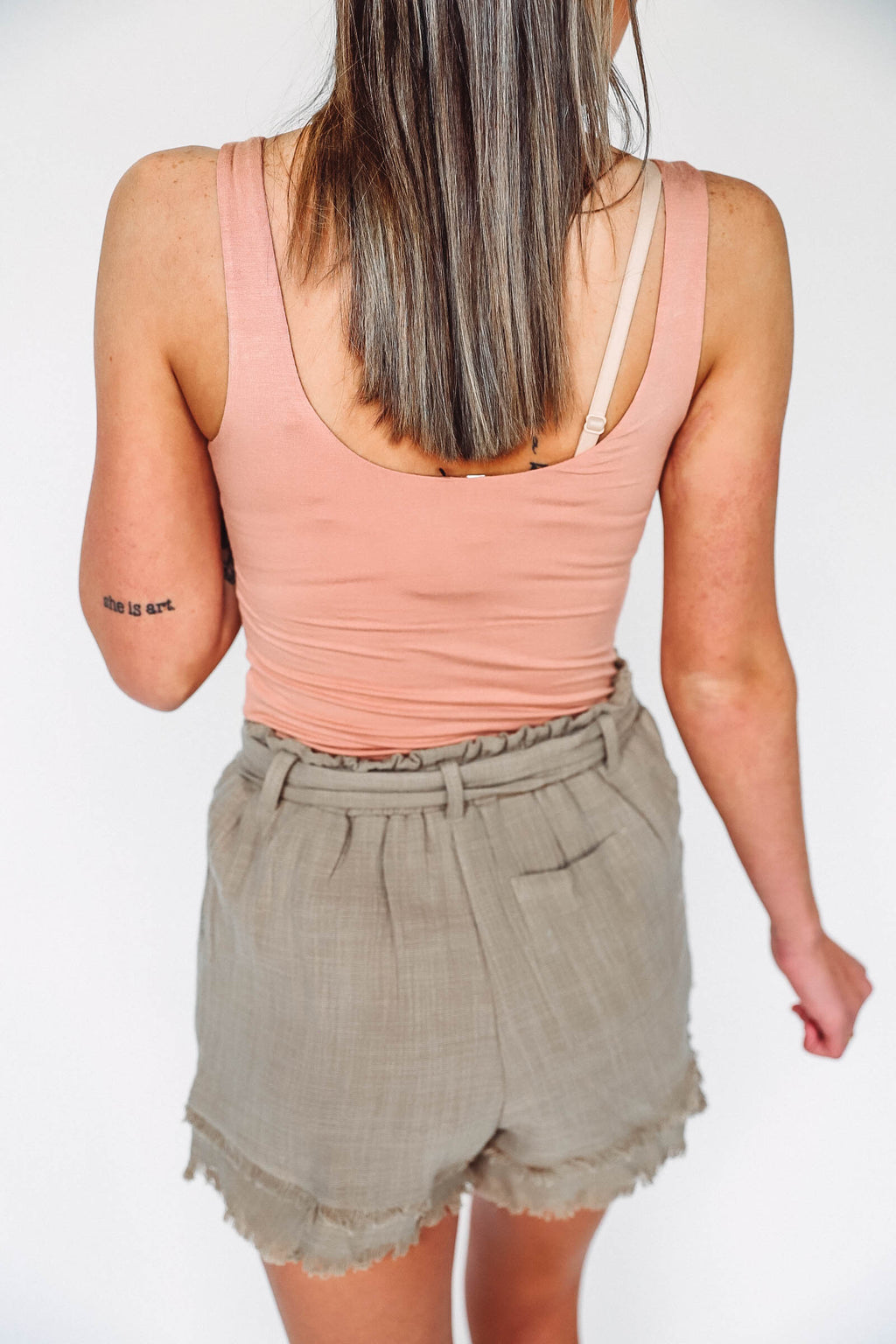 Plaid Wrap Sweater-Taupe