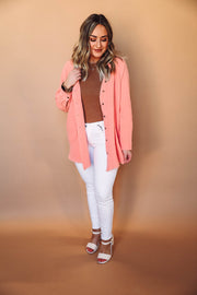 Rachel Ruffle Top-Red-Extended Sizes
