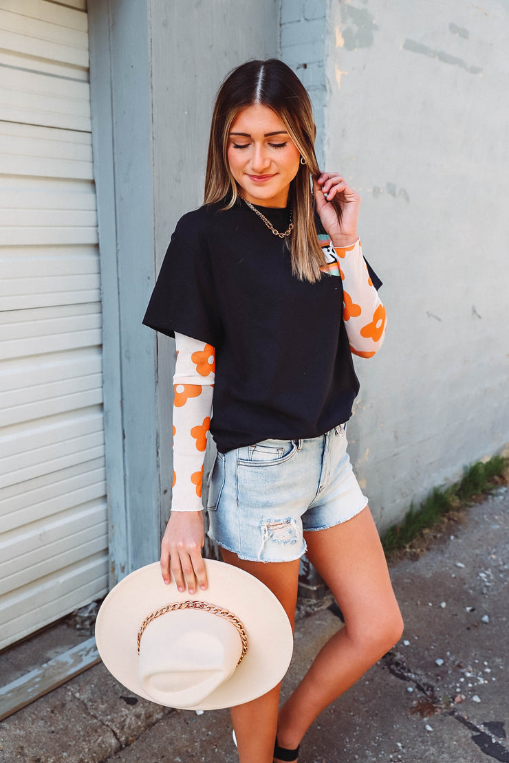 Paige Sweater-Rust