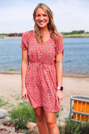 Martinique Wrap Skirt-Cobalt