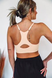 Emma Tie Top-Burgundy/Black