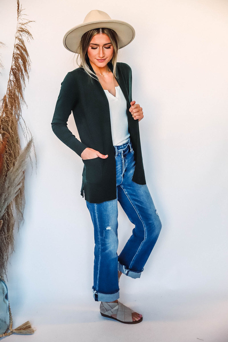 Fall Time Waffle Knit Top-Extended Sizes