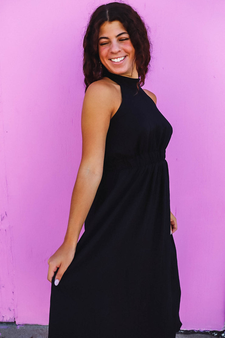 Brooklyn Twisted Top-Olive/Ivory