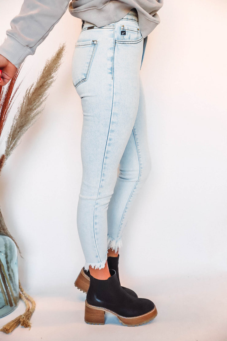 Gil Striped Sweater-Cream