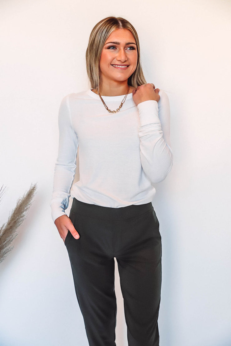 Wriggly Striped Top