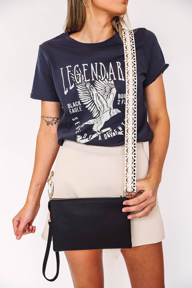 Iced Coffee Tee-Mustard
