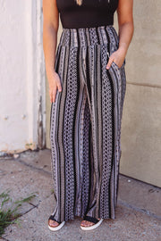 Jordynn Boho Pants-Black