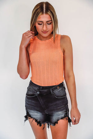 Button Up Cardi Extended Sizes-Cement