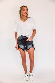 Button Up Cardi Extended Sizes-Dk Red