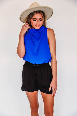 Button Up Cardi Extended Sizes-Black