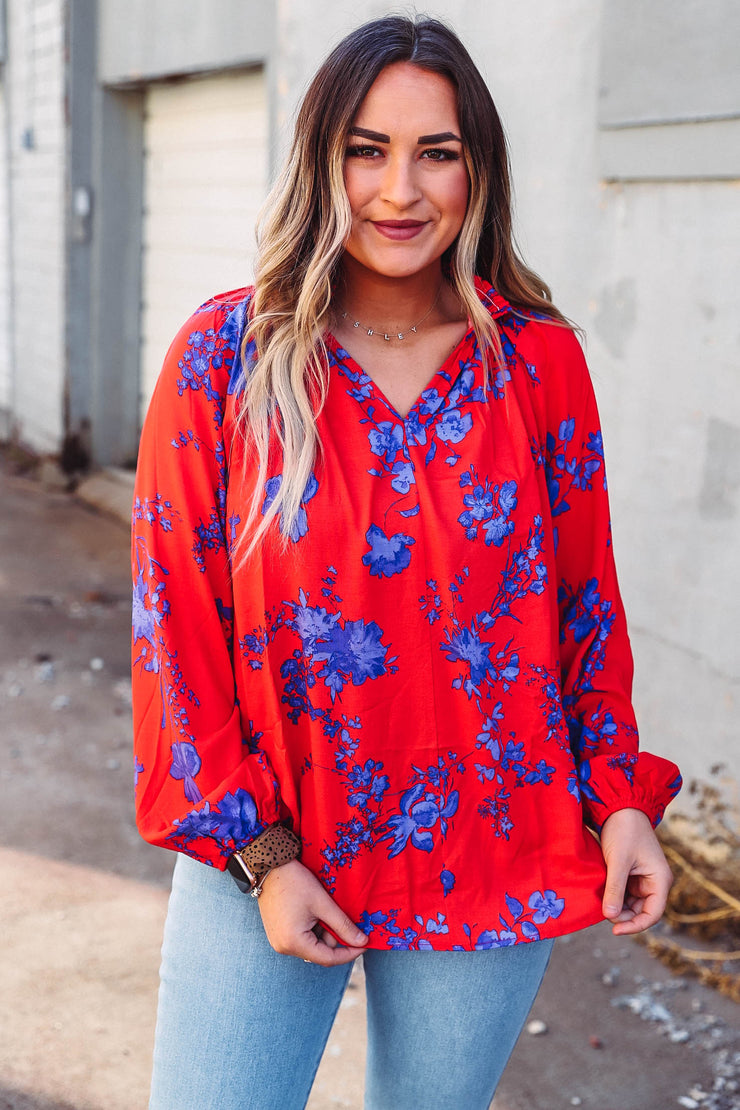 Gellar Plaid Button Up