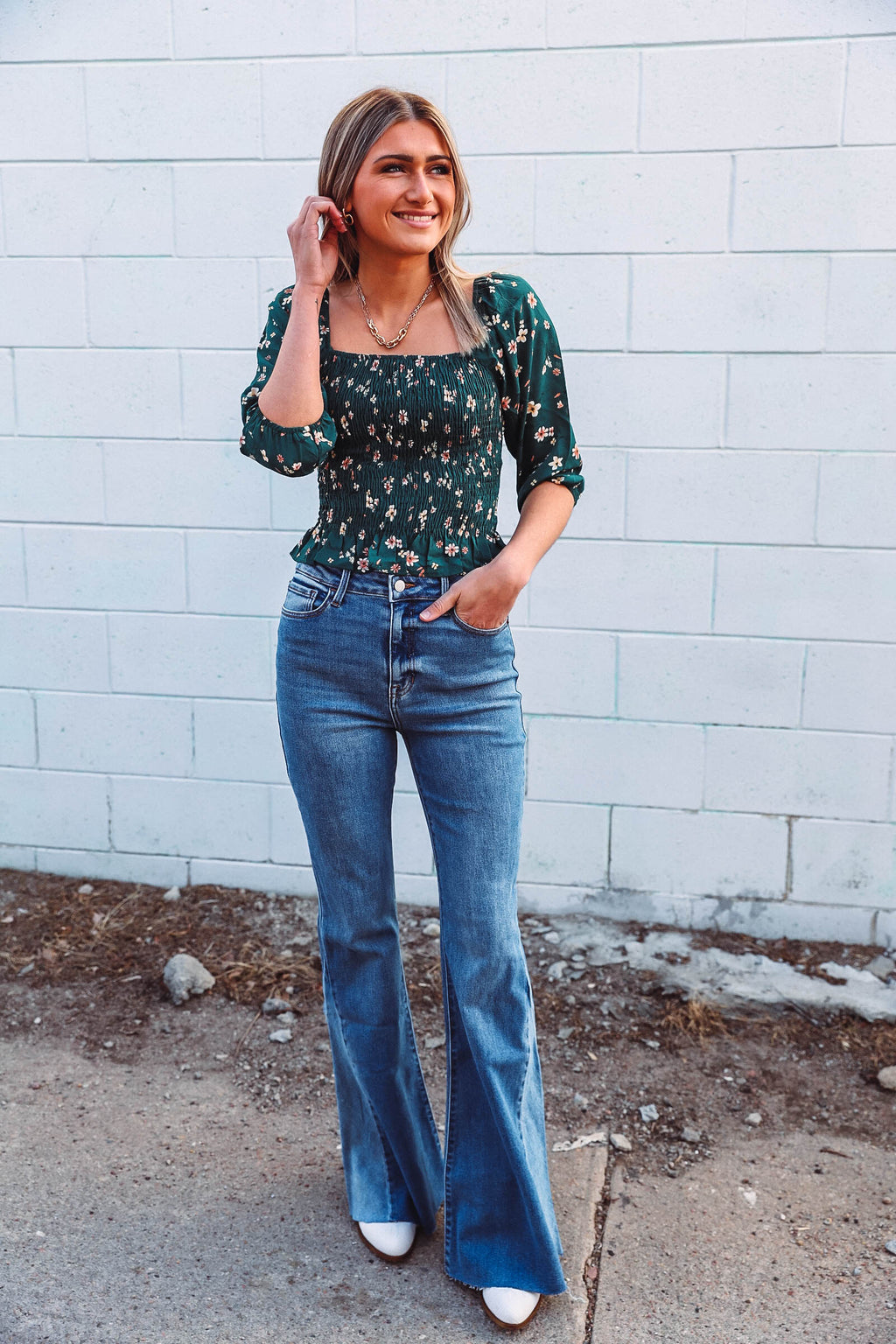 Quinn Button Cardi-Ruby