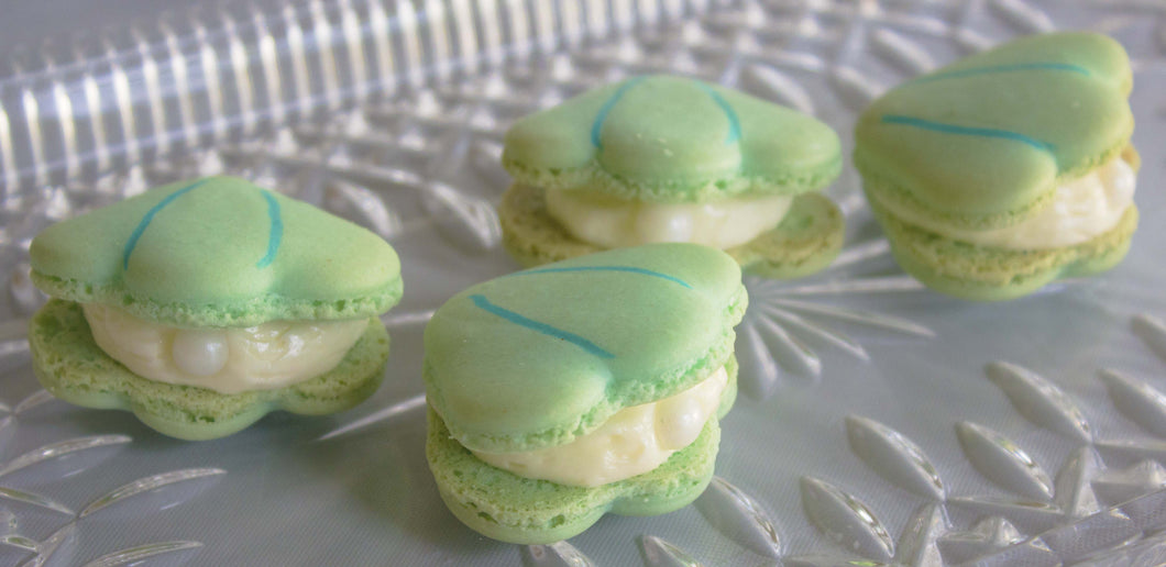 Oyster Macarons