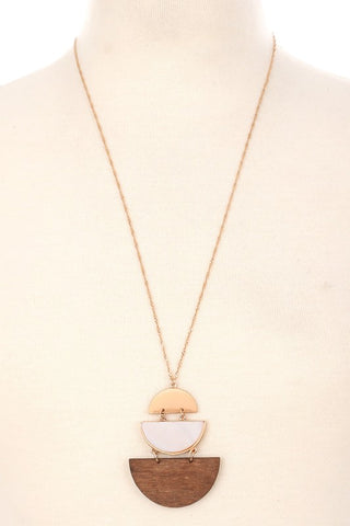 Tiered Semicircle Necklace