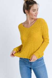 Popcorn Twist Sweater