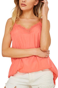 Coral Camisole