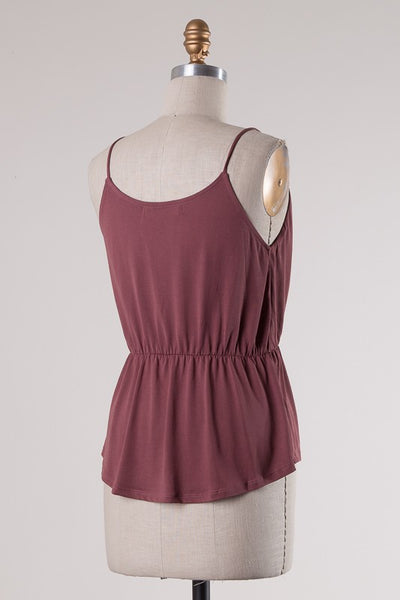 Burnt Mauve Tank