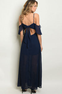 Open Back Bow Tie Dress
