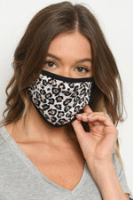 Leopard Print Reusable Mask (Adult)
