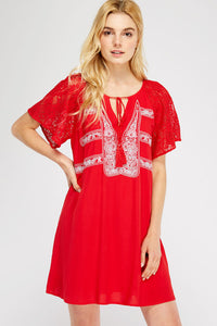 Kina Dress - Red
