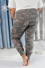 Hidden In Comfort Camo Joggers