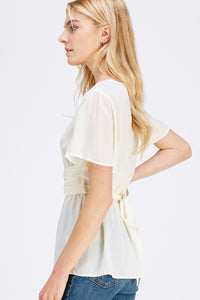 Lassie Top - Cream
