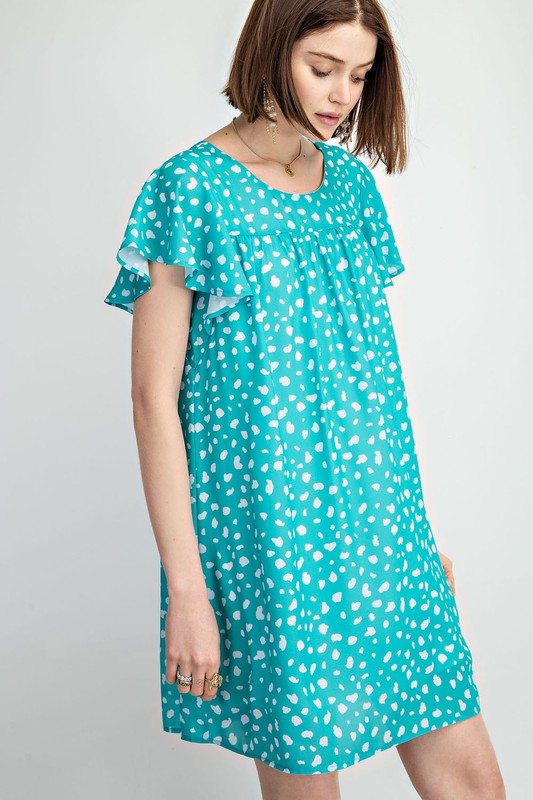 Miranda Dress - Blue