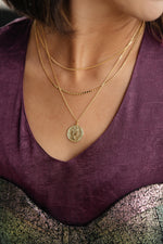 Make A Wish Coin Necklace