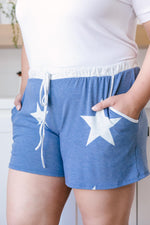 Star Player Shorts In Blue