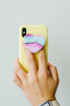 Stone Heart Pop Socket
