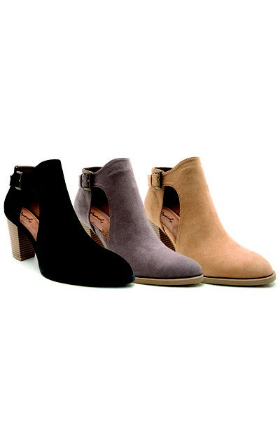 Side Cut Booties