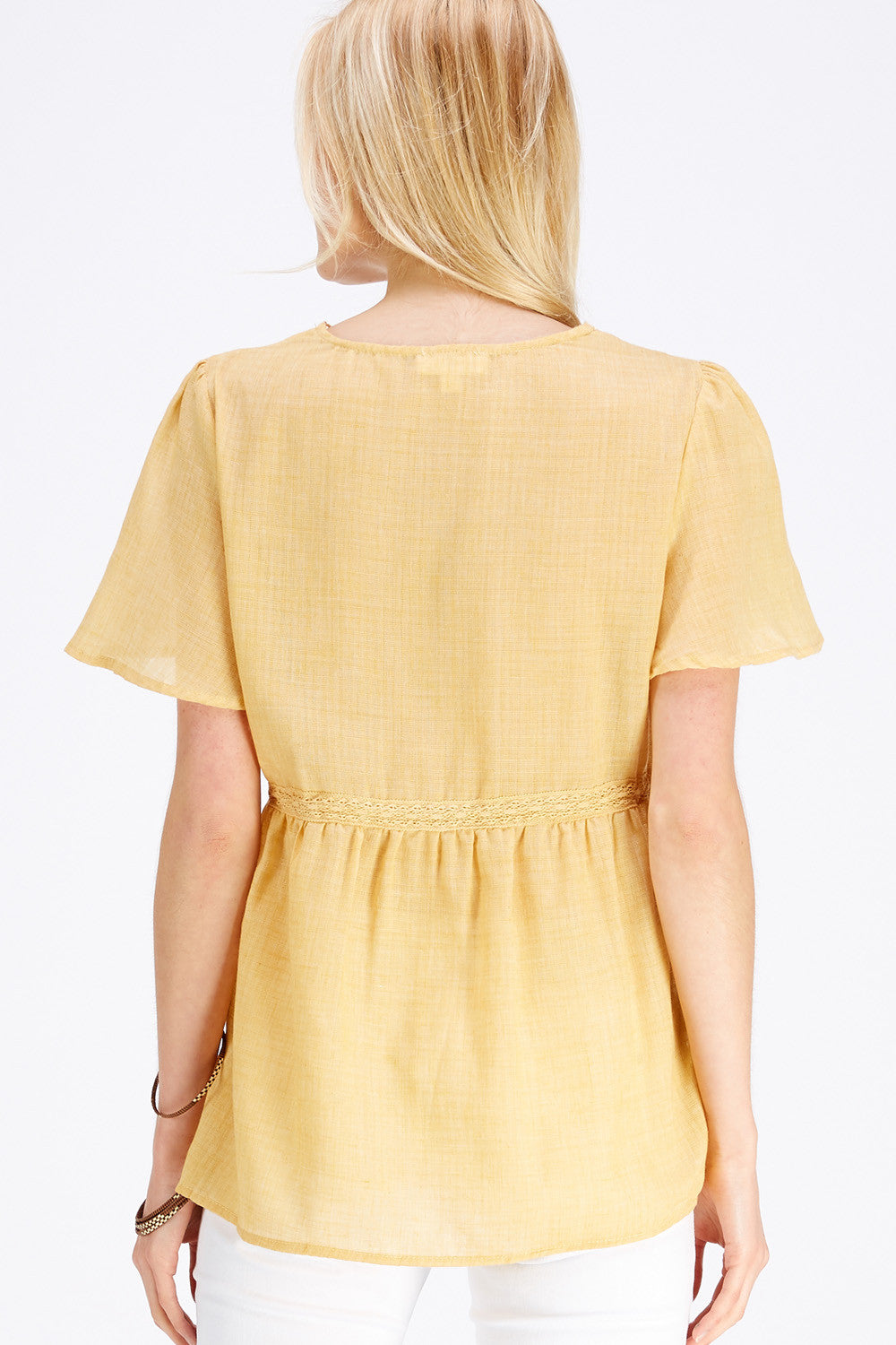 Tony Blouse - Light Mustard