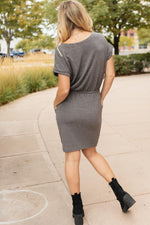 The Day Out Dress in Charcoal