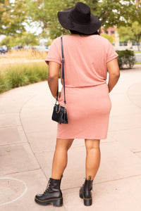 The Day Out Dress in Terracotta